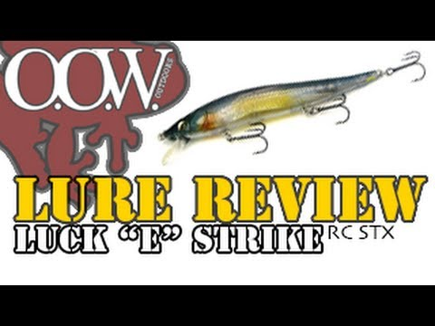 "Lure Review | Luck ""E"" Strike Rick Clunn RC STX 