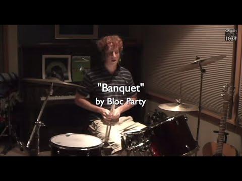 Bloc Party - Banquet Drum Cover