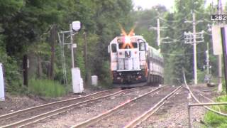 Two Trains Meet in Allenhurst 7/25/13