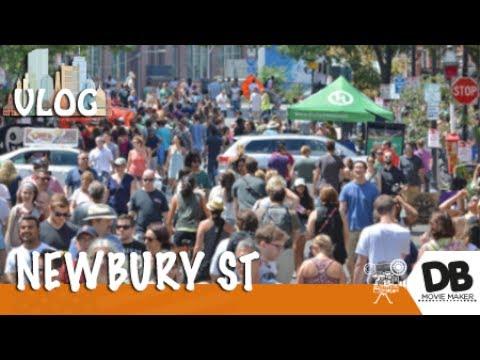 Newbury St, uma rua no coração de Boston - DbTv #743