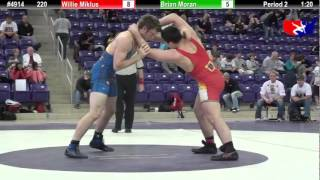 FSN Final 220: Willie Miklus (Ram Wrestling Club) vs. Brian Moran (WOW)