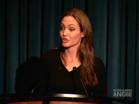Angelina Jolie speak on World Refugee Day 2009 - Full