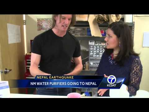 NM water purifiers going to Nepal