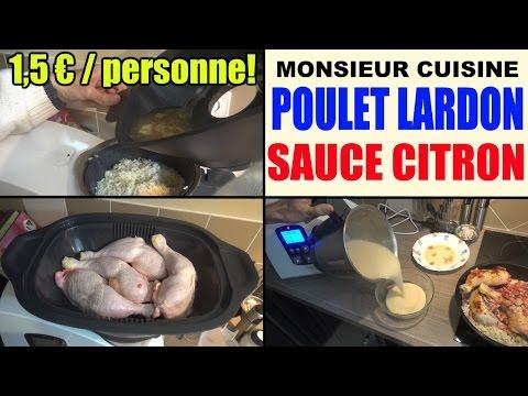 poulet-aux-lardons-riz-et-sauce-citron-recette-monsieur-cuisine-lidl-silvercrest