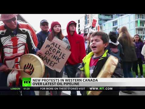 RT America: Standing Rock 2.0: Canada & US See Oil Pipeline Protests