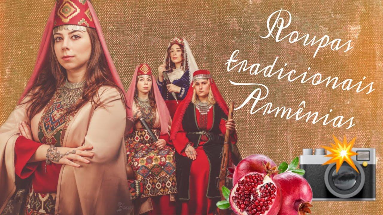 Ensaio Fotográfico com Roupas Tradicionais Armênias 📸❤️🙌🏻