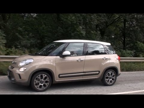 fiat 500l trekking youtube. Black Bedroom Furniture Sets. Home Design Ideas