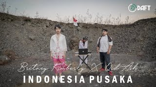 Lagu Nasional - Indonesia Pusaka ( COVER ) - EDM x RAP Britney Kimberly, Qid Ash & Dev