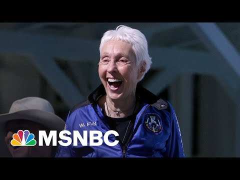 Wally Funk Describes Flight To Space, Oldest Person To Make Journey