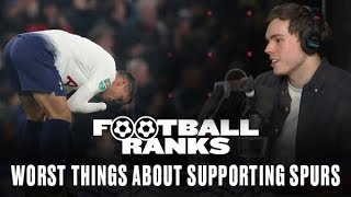 B/R Football Ranks: The Worst Things About Being a Tottenham Fan, with Comedian Rhys James