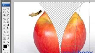 Unzip an apple in Photoshop (Part 1 of 2) - Week 26
