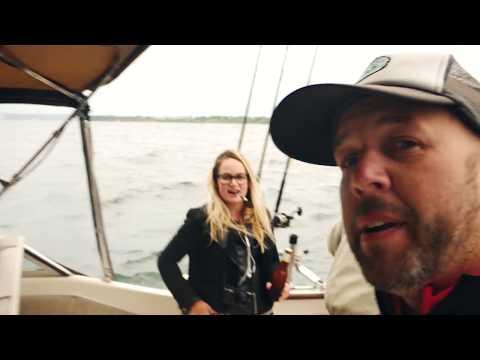 Salmon Fishing in Lake Michigan