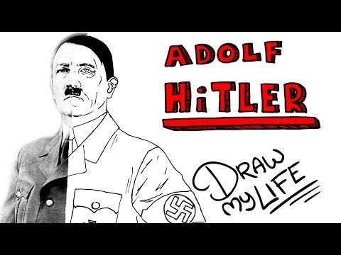 ADOLF HITLER | Draw My Life