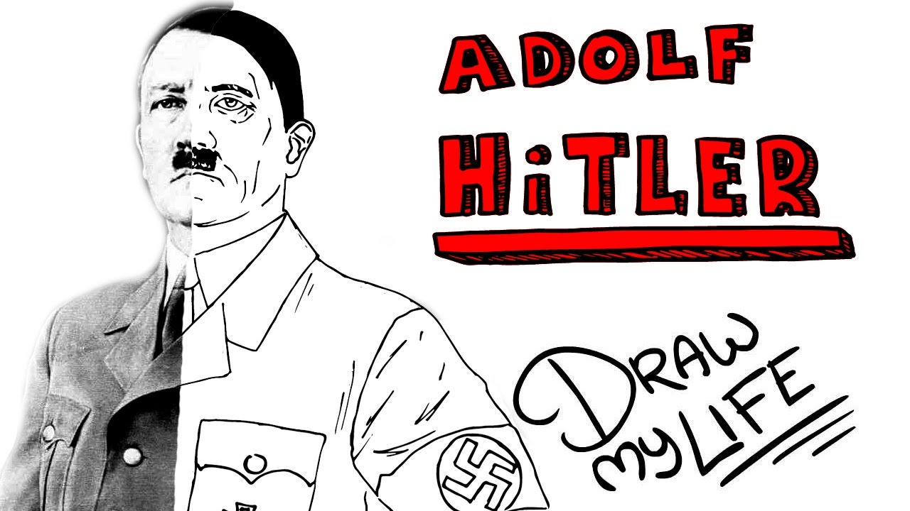 ADOLF HITLER | Draw My Life