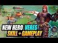 New Warrior Veres Can 1v5 Easy Aov New Hero Veres | Aov | 傳說對決 | Garena Rov | Liên Quân Mobile