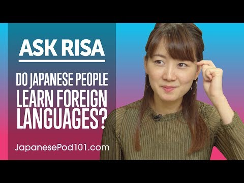 Do Japanese People Learn Foreign Languages? Ask Risa (Việt Sub)