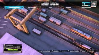 The Crew Ingame Awards Jumping over a standing train, Detroit Baseball Stadion, Detroit Downtown Spr
