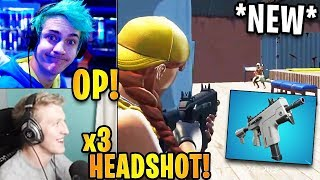 Streamers First Time Using the *NEW* Burst SMG!   Fortnite Highlights & Funny Moments