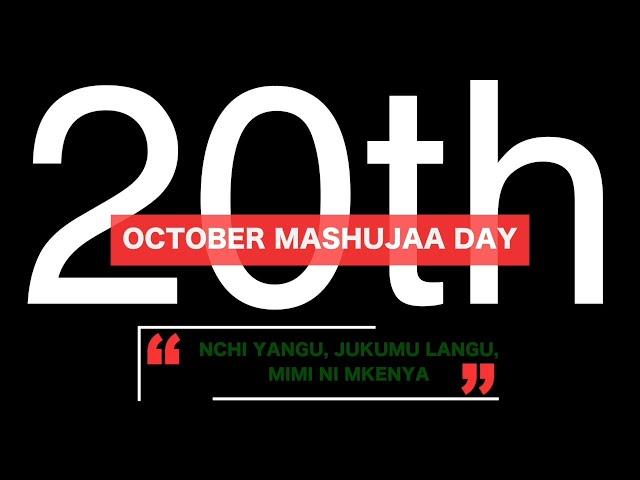 Youth Agenda Mashujaa Day 2020
