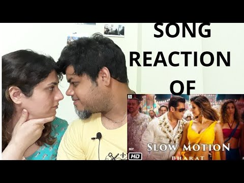 Bharat: Slow Motion Song Reaction | Salman Khan, Disha Patani | Foreigner VS Indian Reaction