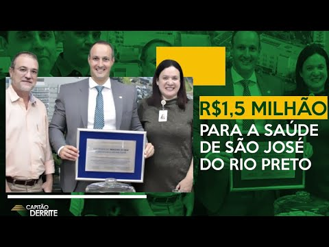 R$ 1,5 milhão para a saúde de São José do Rio Preto