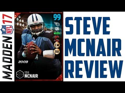 How Good is Ultimate Legend Steve McNair? - MUT 17
