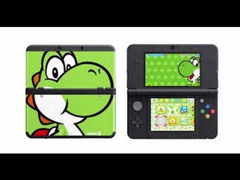 Mettre un fond d'écran sur sa 3DS !