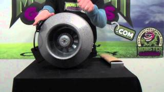 "Vortex 8 Inch Fan- Product Test & Review Monstergardens | Best 8"" Inline Ducting Fan Indoor"