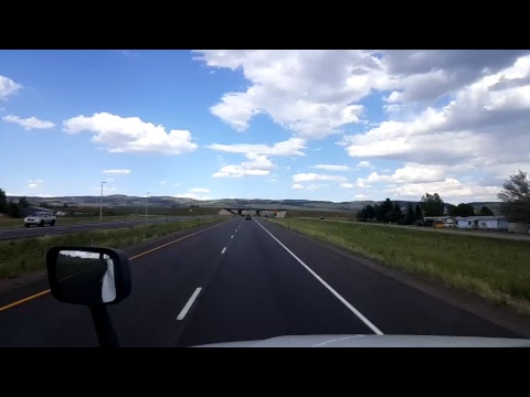 BigRigTravels LIVE! Arlington to Laramie, Wyoming Interstate 80 East June 21, 2017