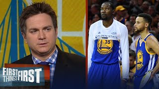 Chris Mannix says there is no reason to doubt the Golden State Warriors | FIRST THINGS FIRST