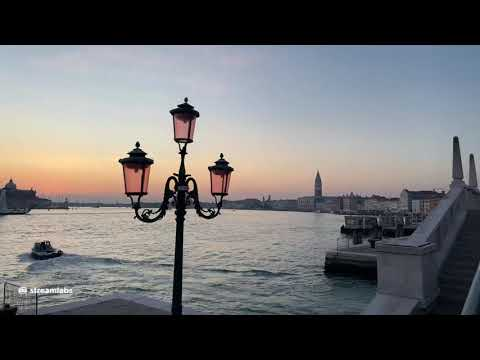 Live Venice (Jan 18, 2021) - Live walking in Venice at Sunset
