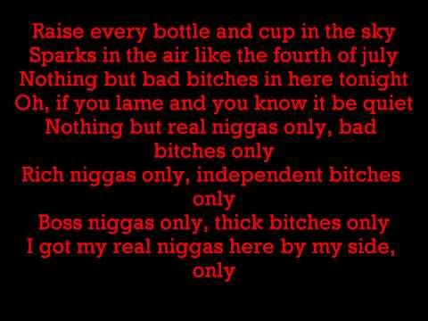 Nicki Minaj ft. Drake, Lil Wayne & Chris Brown - Only (Lyrics)