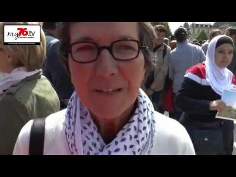 Valérie FOURNEYRON sur l'accueil des réfugiés à ROUEN