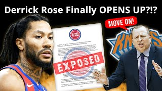 The REAL Reason For Derrick Rose Trade