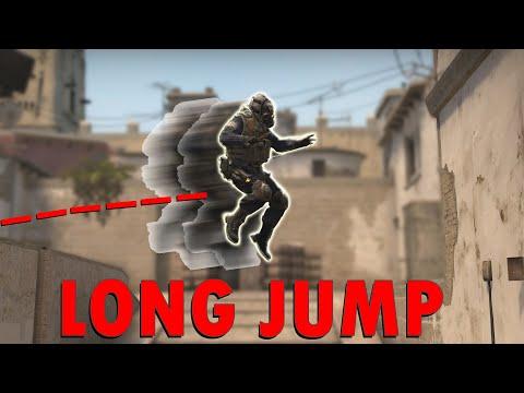 Как прыгнуть дальше возможного Long Jump в кс го