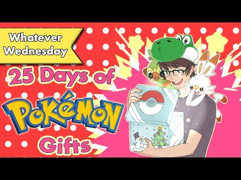 25 Days Of Pokemon Gifts | #PokeCalendar