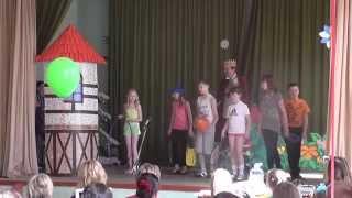 Мюзикл в школе английского языка Friends. Обнинкс 18.05.2014 (Часть 2)