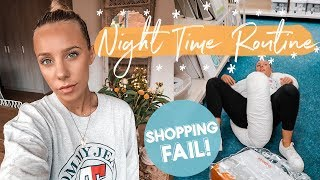 Night Time Routine for Sensitive Sleepers + Shopping FAIL!