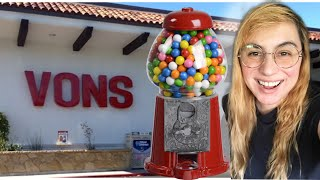 PLACING MY 4TH GUMBALL MACHINE LOCATION IN A VONS!
