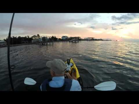 Fishing Oriole Beach in Gulf Breeze Florida