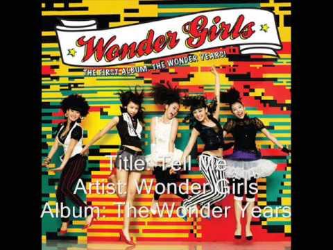 Wonder Girls-Tell Me