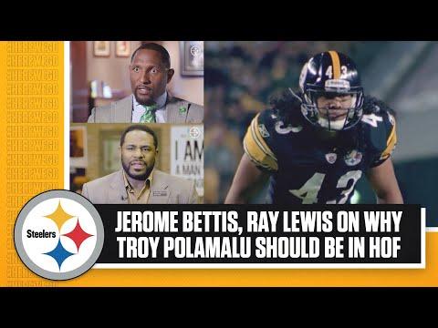 Jerome Bettis, Ray Lewis on Troy Polamalu | Polamalu was