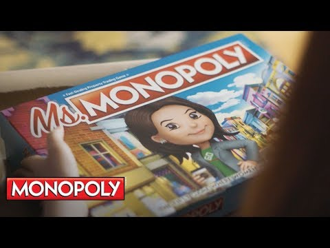 Nick Wize - NEW MS. MONOPOLY Game Celebrating Women's Inventions Coming Soon.