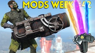 Fallout 4 TOP 5 MODS (PC & XBOX) Week #42 - PORTABLE ARTILLERY, PLASMA SWORDS, STAR WARS PISTOL