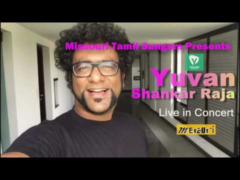 Haricharan Invites You for Yuvan Shankar Raja Concert in St. Louis