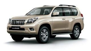 Замена лобового стекла на Toyota Land Cruiser Prado 150 в Казани.