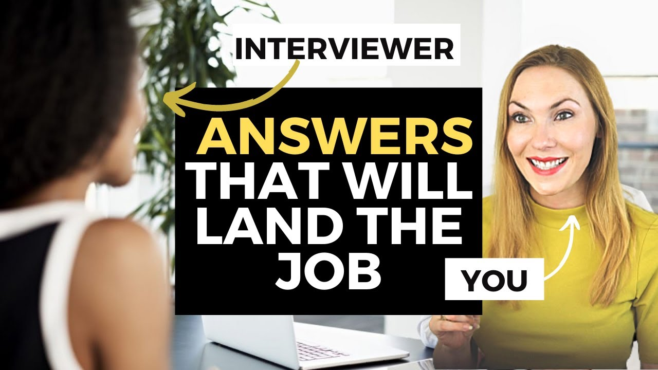 BEST Answers to the 10 Most Asked Interview Questions | Interview Questions and Answers