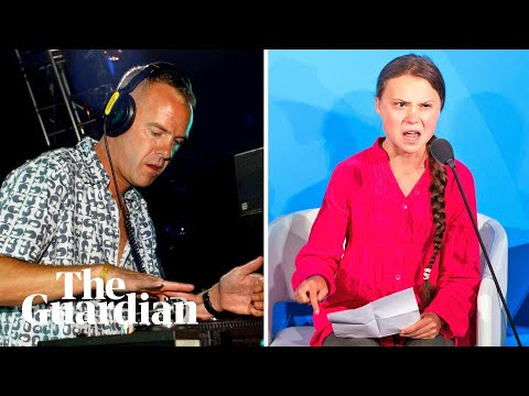 'Right here, right now': Fatboy Slim samples Greta Thunberg for live show