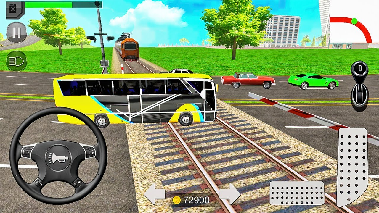 Download Euro Coach Bus Simulator 2020: City Bus Driving Games - Android Gameplay