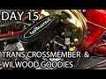 '72 Chevy C10 - New Trans Cross member & Brake Flaring Tool Demo  - Day 15